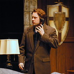 The Mousetrap - Pictured: Graham Ward (Detective Sergeant Trotter) Photo: P. Switzer Photography 2014