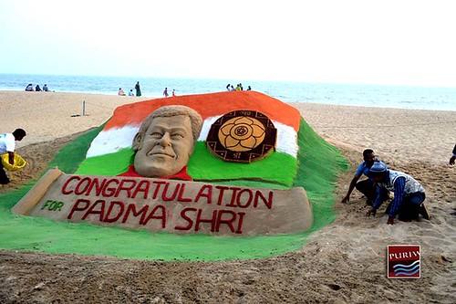 Sand artist Sudarshan Patnaik of Odisha chosen for Padma Shri award