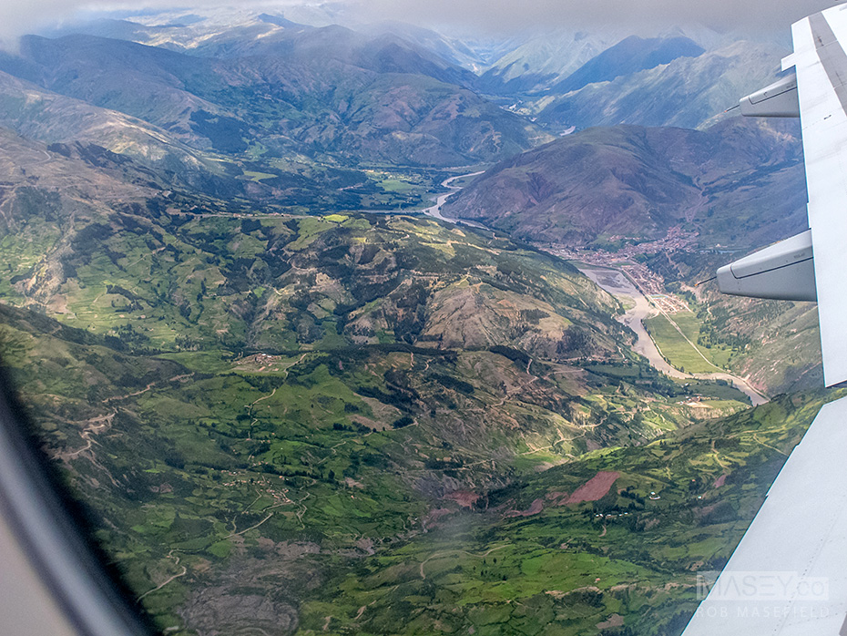 Glimpses of the beautiful Peruvian countryside.