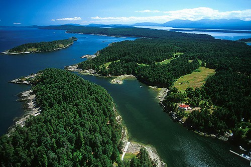 Gabriola Island, Gulf Islands, Georgia Strait, British Columbia, Canada