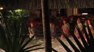 Tahitian dance show Bora Bora