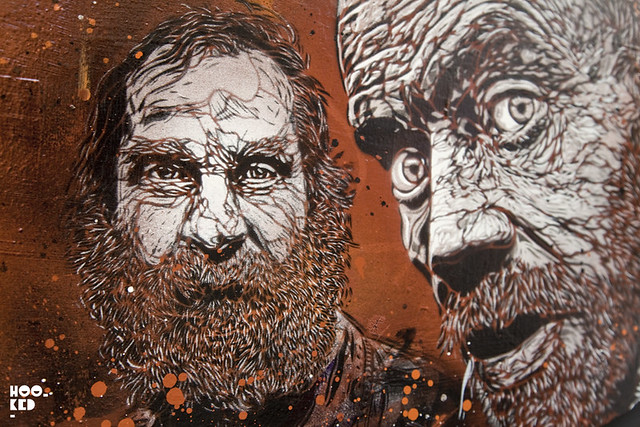C215 'Back To Black' at Stolenspace
