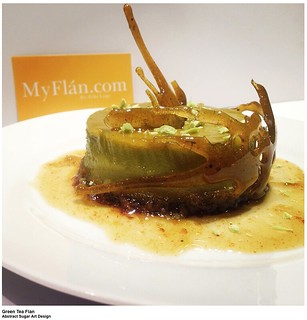 Crazy Sugar Green Tea Flan
