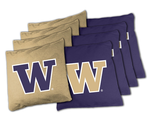 Washington Huskies Cornhole Bags