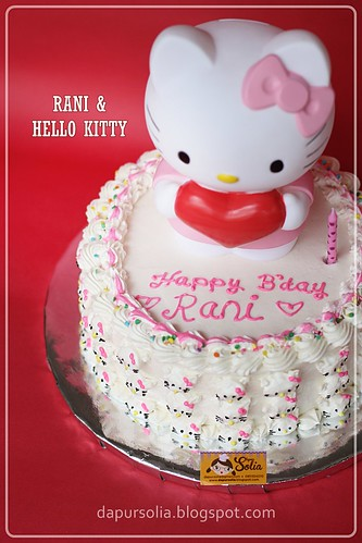 Hello Kitty Cake for Rani