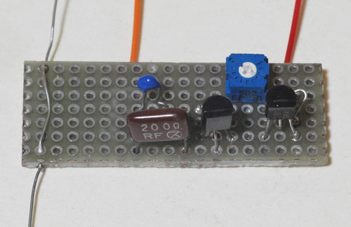 Light quantity adjustment circuit of the LED