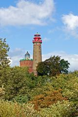 Die Leuchttürme am Kap Arkona auf der Insel Rügen (2)