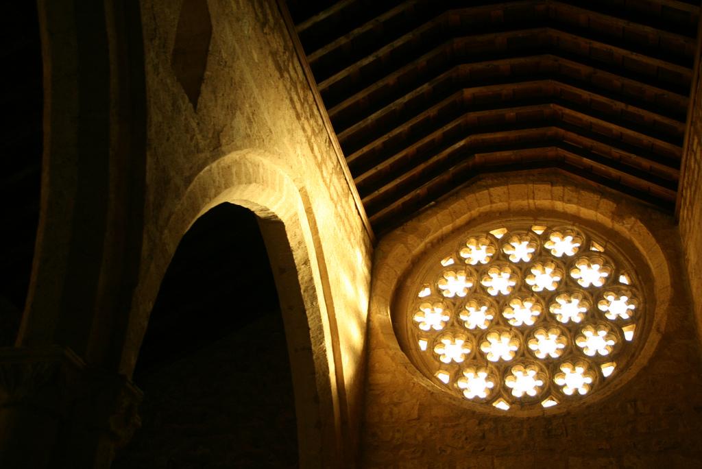 Interior del Santuario de Nuestra Señora de Alarcos. Autora, Lucía Ponce