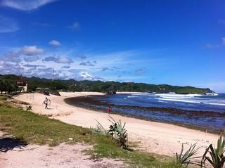 Obraz Krakal Beach. beach yogyakarta pantaikrakal uploaded:by=flickrmobile flickriosapp:filter=nofilter