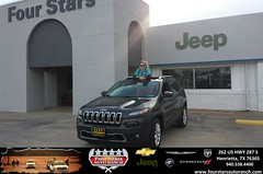 Congratulations to Diana Martin on your #Jeep #Cherokee purchase from Tracey Frerich at Four Stars Auto Ranch! #NewCar