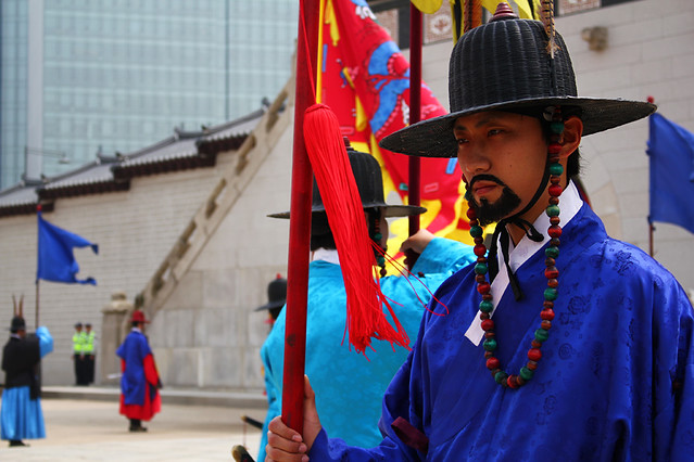 Royal guard - Gyeongbokgung Palace - Seoul