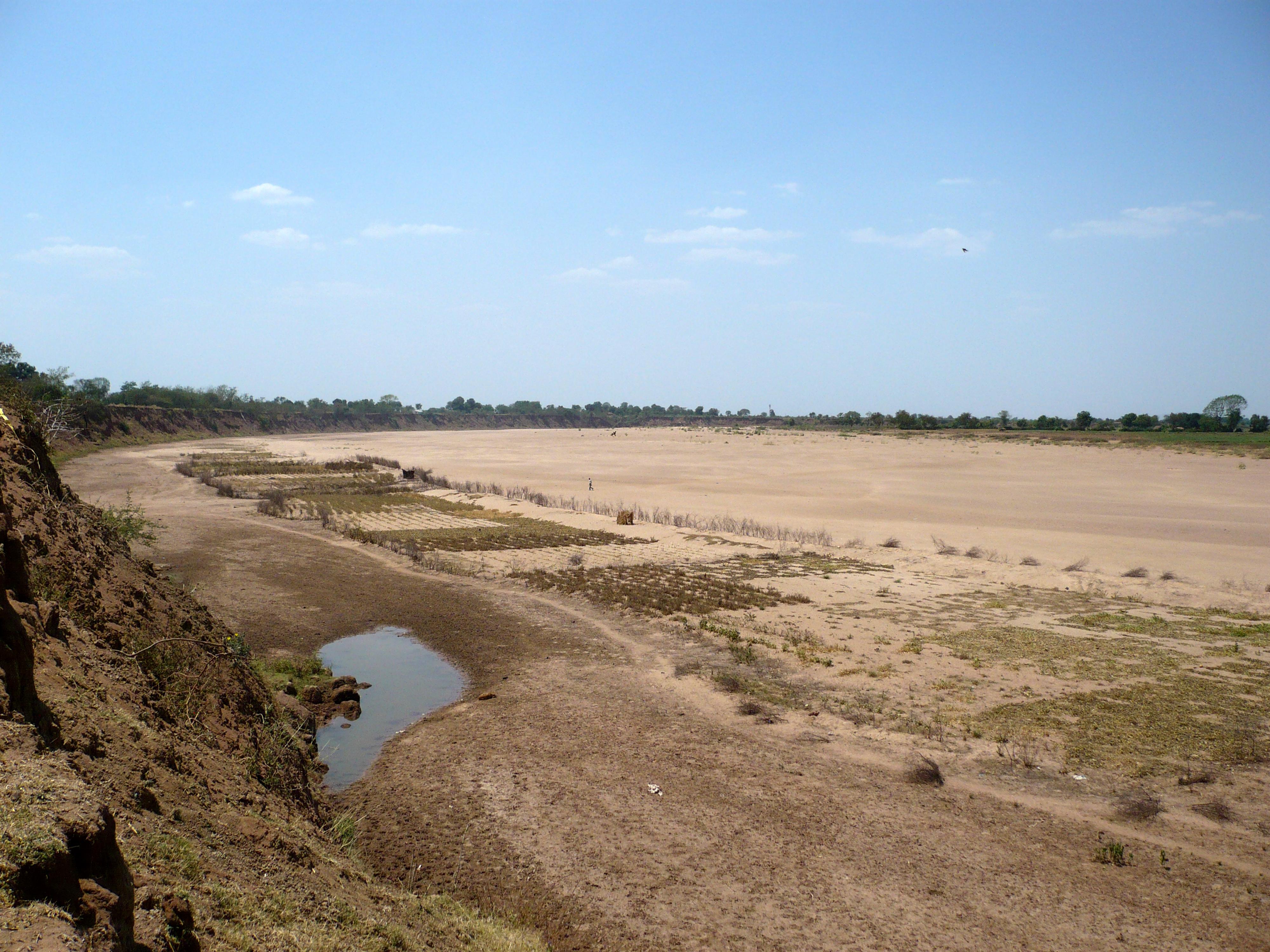 सदानीरा नदी अब