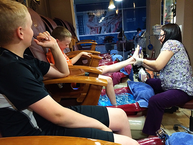 Pedicures!
