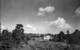 Helsinki radio station in Pasila, ca 1930.