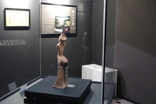 縄文の女神 山形県立博物館