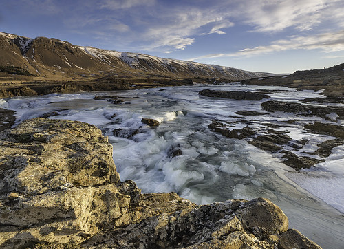 cloud mountains ice rock sunrise river landscape iceland day glacial hvalfjörður laxá