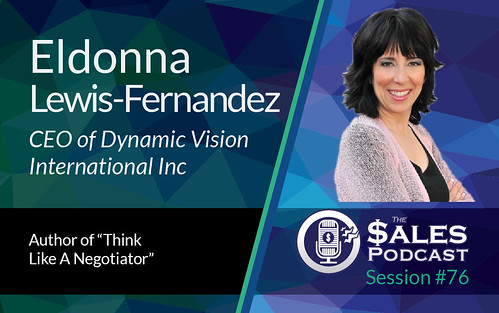 The Sales Podcast Eldonna Lewis Fernandez 76