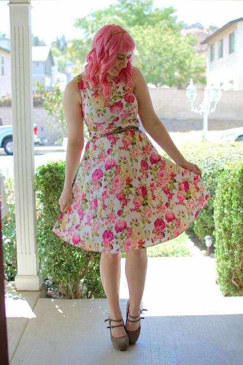 pink floral 12