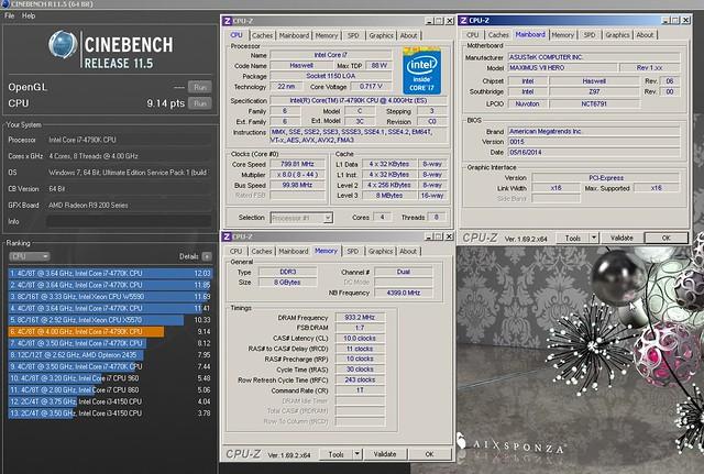 Flankers OC of Intel core i7-4790K Devils Canyon