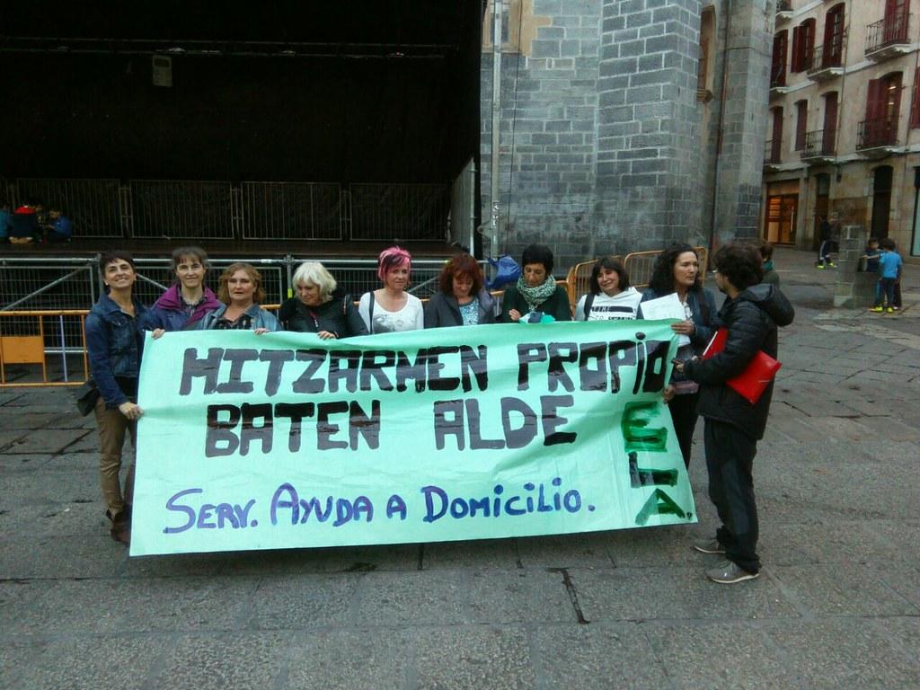 Foto de Archivo, ELA: Movilización en Arrasate