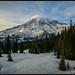 Brilliant Mt. Rainier by Ernie Misner