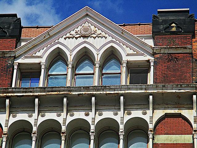 Warner Lofts facade detail