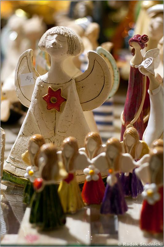 Kiermasz świąteczny w Krakowie