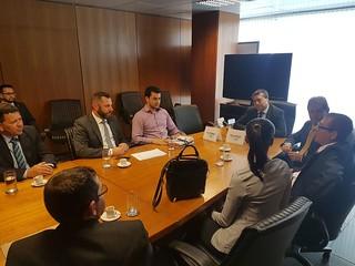 Paulinho da Força e Conaf se reúnem com ministro do trabalho