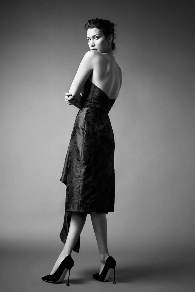 Белла Хадид — Фотосессия для «Harper's Bazaar» RU 2016 – 6