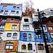 Friedensreich Hundertwasser Wohnhaus - Friedensreich Hundertwasser residential house by vampire-carmen