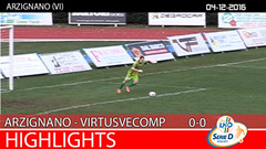 Arzignano-Virtus V. del 04-12-16