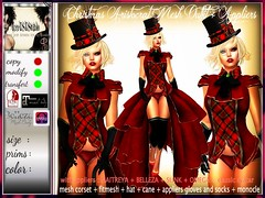 CHRISTMAS ARISTOCRAT FULL MESH OUTFIT + APPLIERS 5ls ONLYYYY