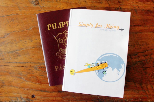 Simply for Flying flight logbook for kids