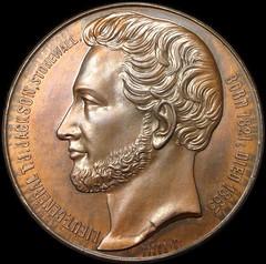 Stonewall Jackson medal obverse