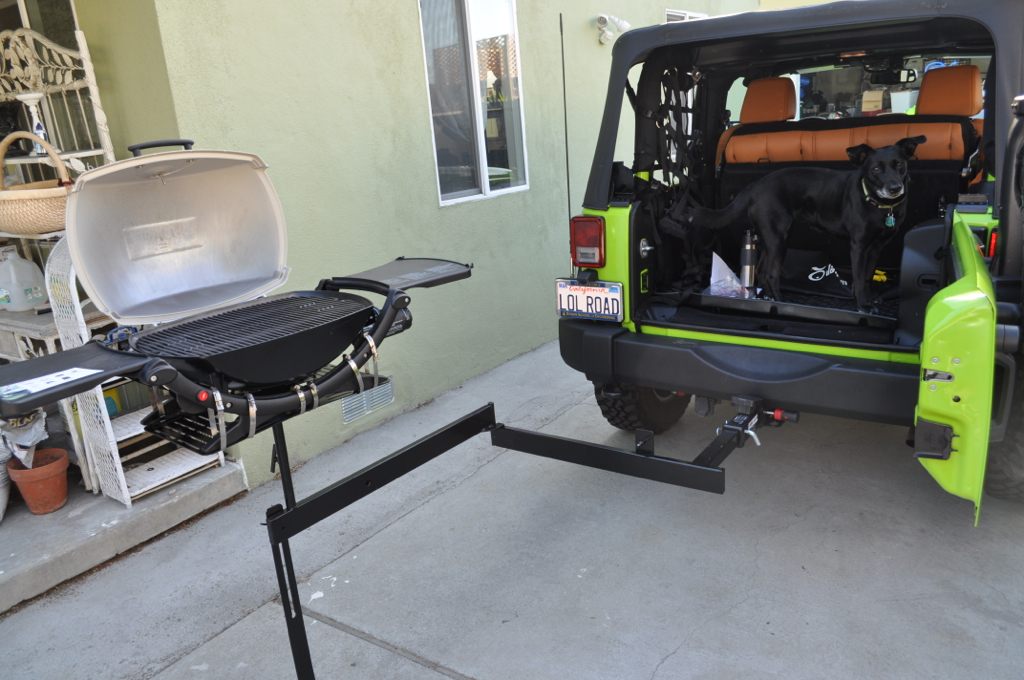 My DIY Tailgating grill (Many pictures!) - Jeep Wrangler Forum