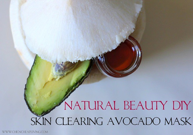 Coconut avocado honey top view by Chic n Cheap Living