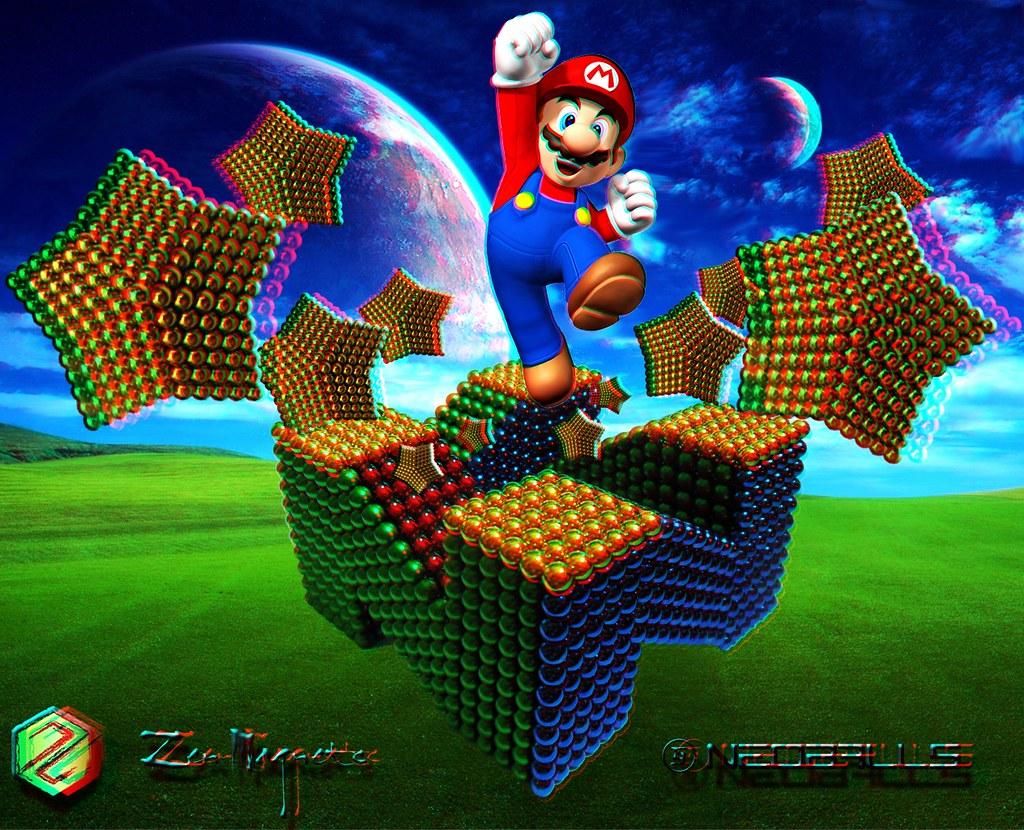 3D-Mario-&-Logo-Scene-Zen-Neo