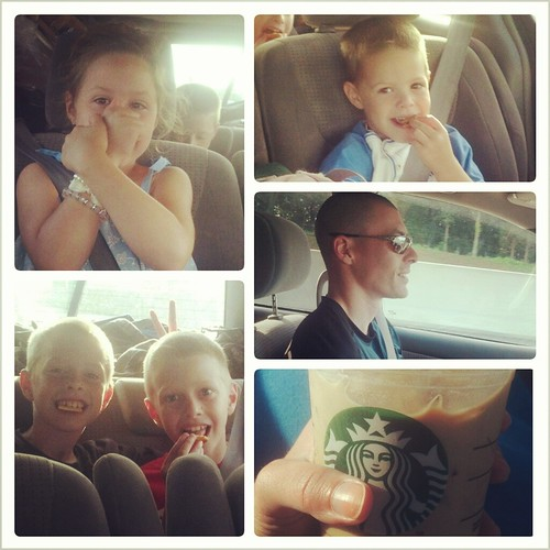 the many faces of our road trip...