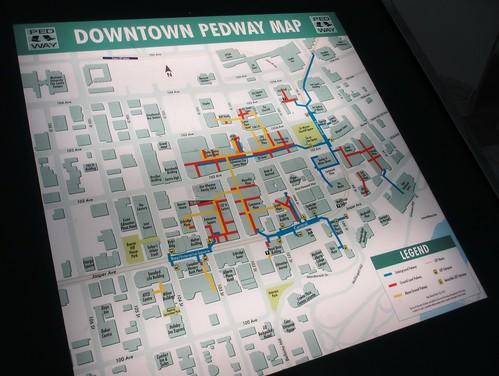 Edmonton Pedway Signs