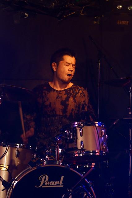 SPUTNIK KOMBINAT live at Outbreak, Tokyo, 15 Jul 2013. 126