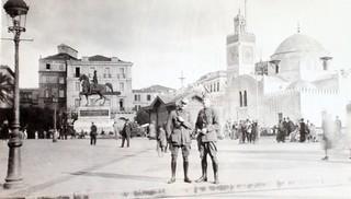 Street Scene in Alger