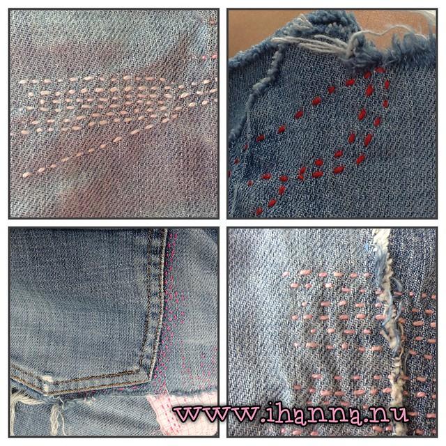 Jeans Skirt Details