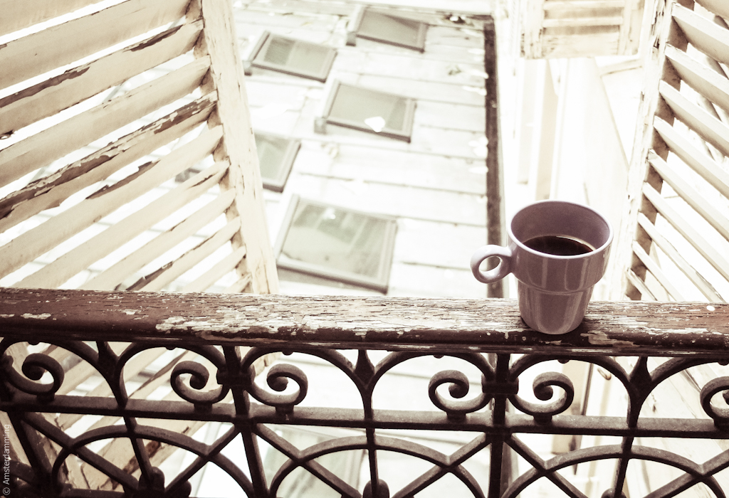 Paris, Morning Coffee