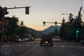 Nearly Dark in Ketchum