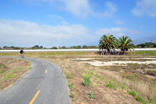 Separated Bike Path near the beach