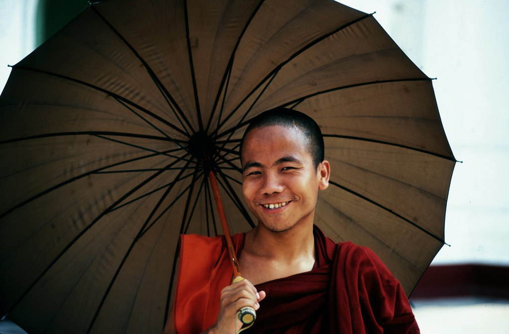 A Wonderful Monk In Yangon
