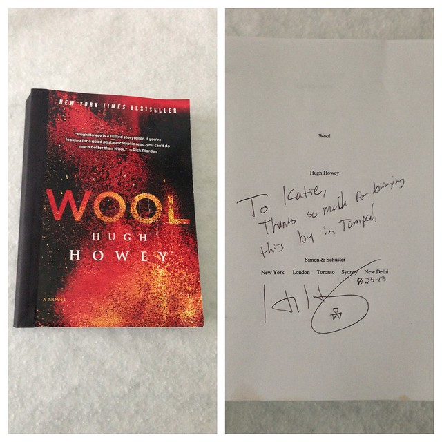 Tampa comic con loot - Signed Wool Galley Bound copy