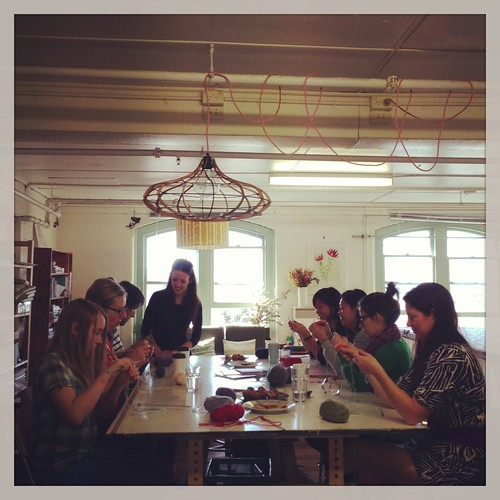 Learn to knit class