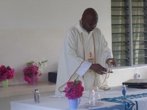 Father Moses Celebrates Mass