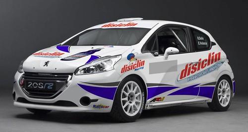 Vehículo con el que competirá Roberto Solis y Kike Velasco en el Rallye Principe de Asturias 2013